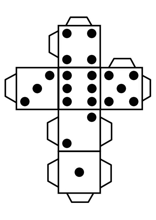 Dobbelsteen škola - školka Pinterest Math, Template and Box - dice resume