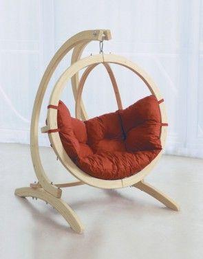 kinder h ngesitz kid 39 s globo terracotta von amazonas. Black Bedroom Furniture Sets. Home Design Ideas