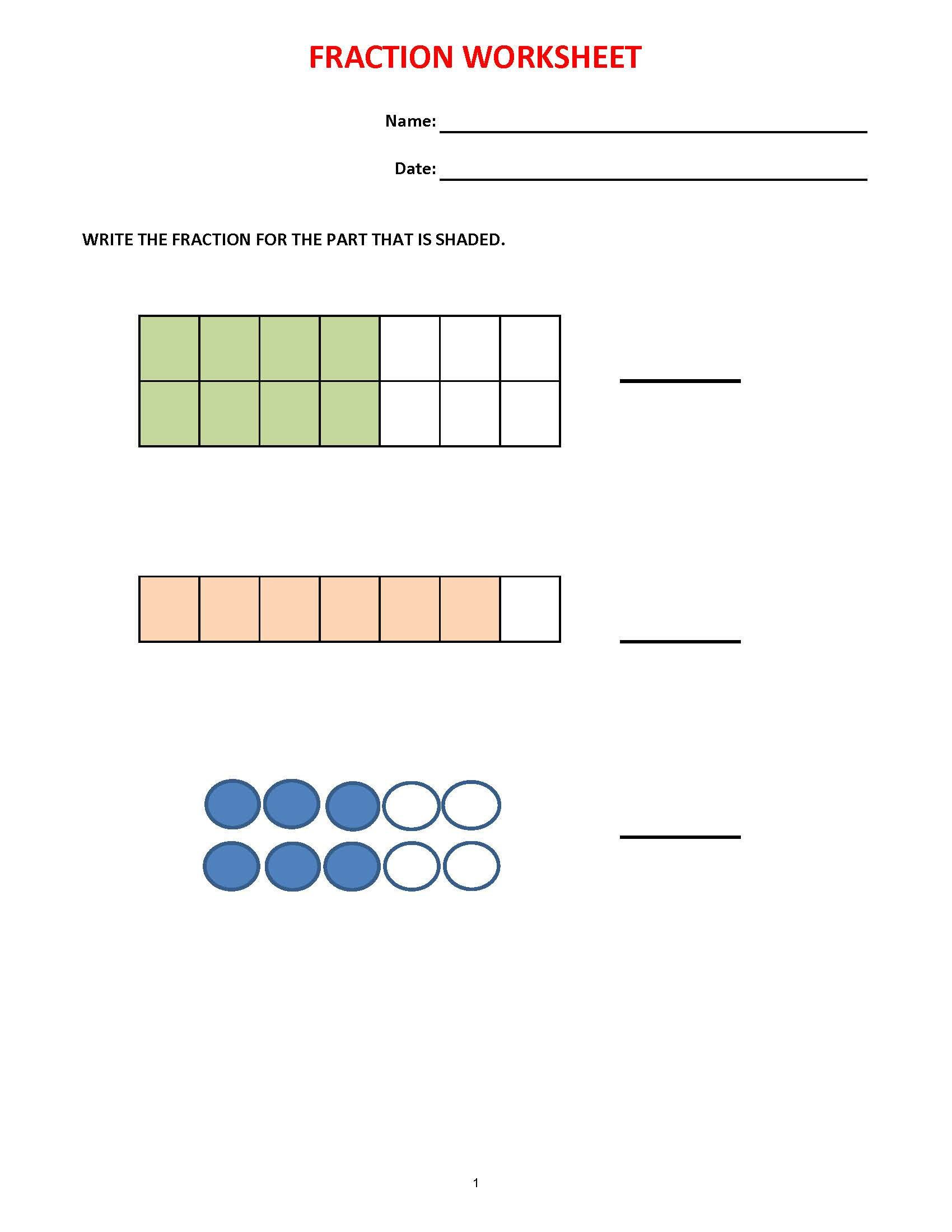 math worksheets fractions (36 worksheets) equivalent fractions