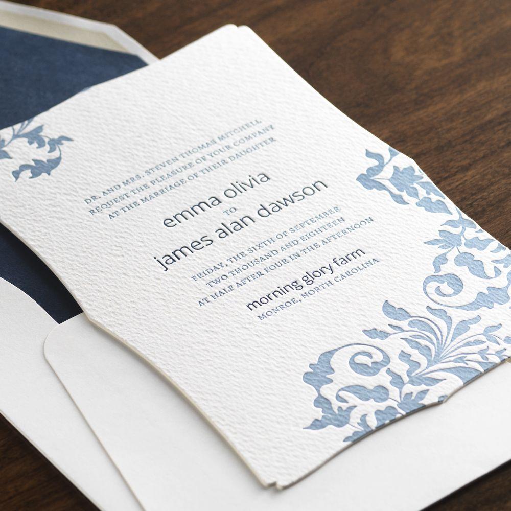 Clara Wedding Invitation by Checkerboard Ltd. We sell Checkerboard ...