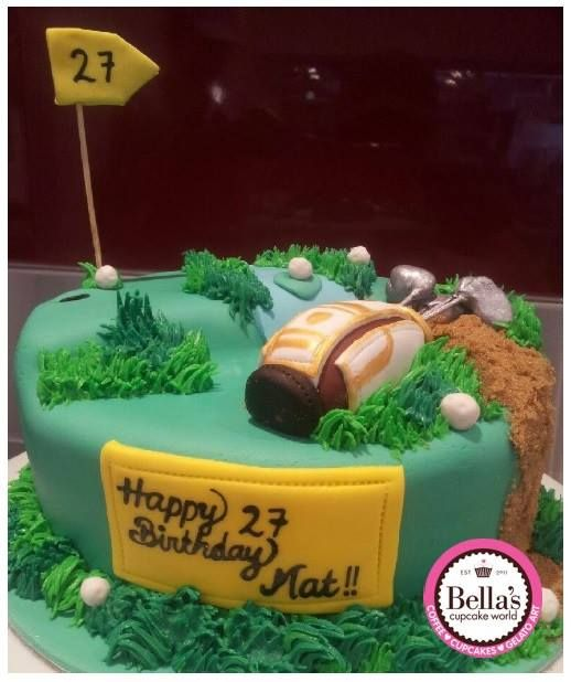Anyone fancy a round of Golf? Contact Bella's for more information 0430 844 633- sales@bellascupcakeworld.com