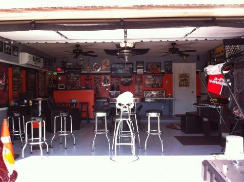 Garage Man Cave Ideas Motorcycle Ideas Designs