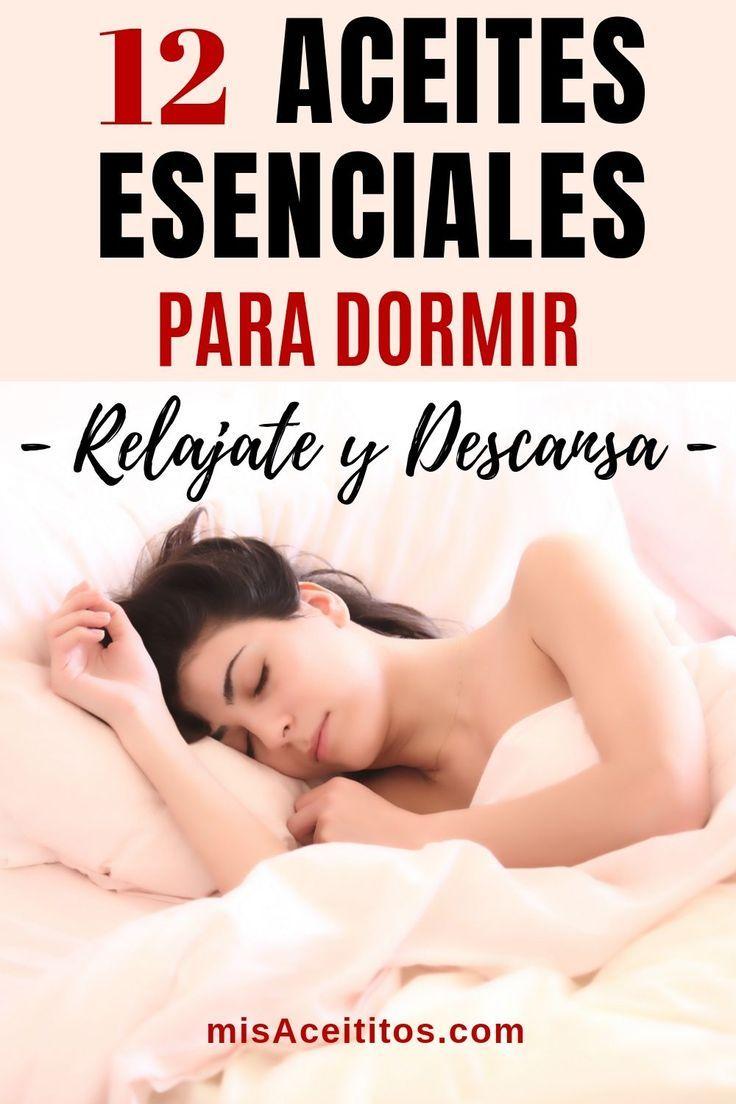 ▷ 12 Aceites Esenciales para Dormir: Relajate y Descansa