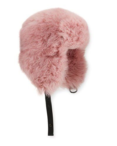 d93be3f54 Moncler Shearling Aviator Hat | Products | Hats, Aviator hat, Moncler