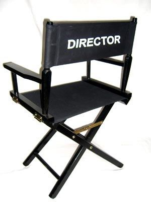 picture of cartoon director chair