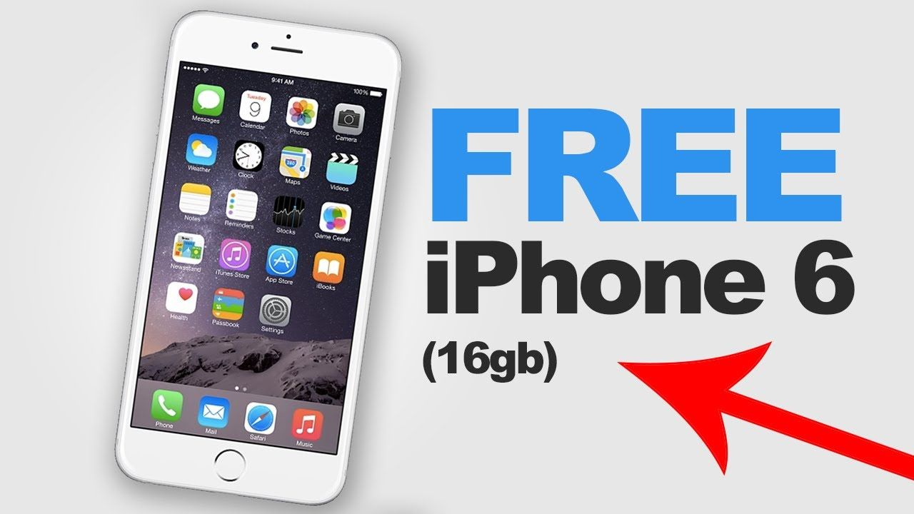 An Iphone 6s For Free Legally