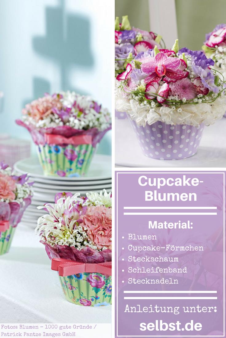 Blumengestecke Selber Machen Taufe Ella Pinterest Gifts