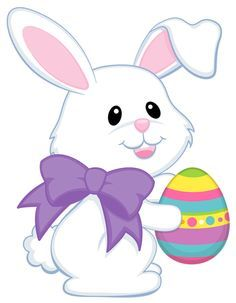 5569a83260f1c06e85972979ac1a5b8a easter cute bunny with purple rh pinterest ie easter bunny clipart animated easter bunny clipart png