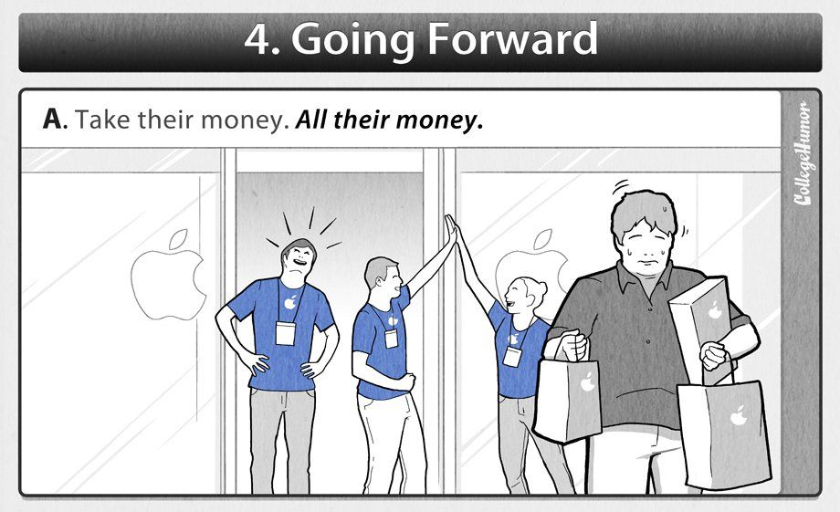 Honest Apple Employee Manual  Funny Posts