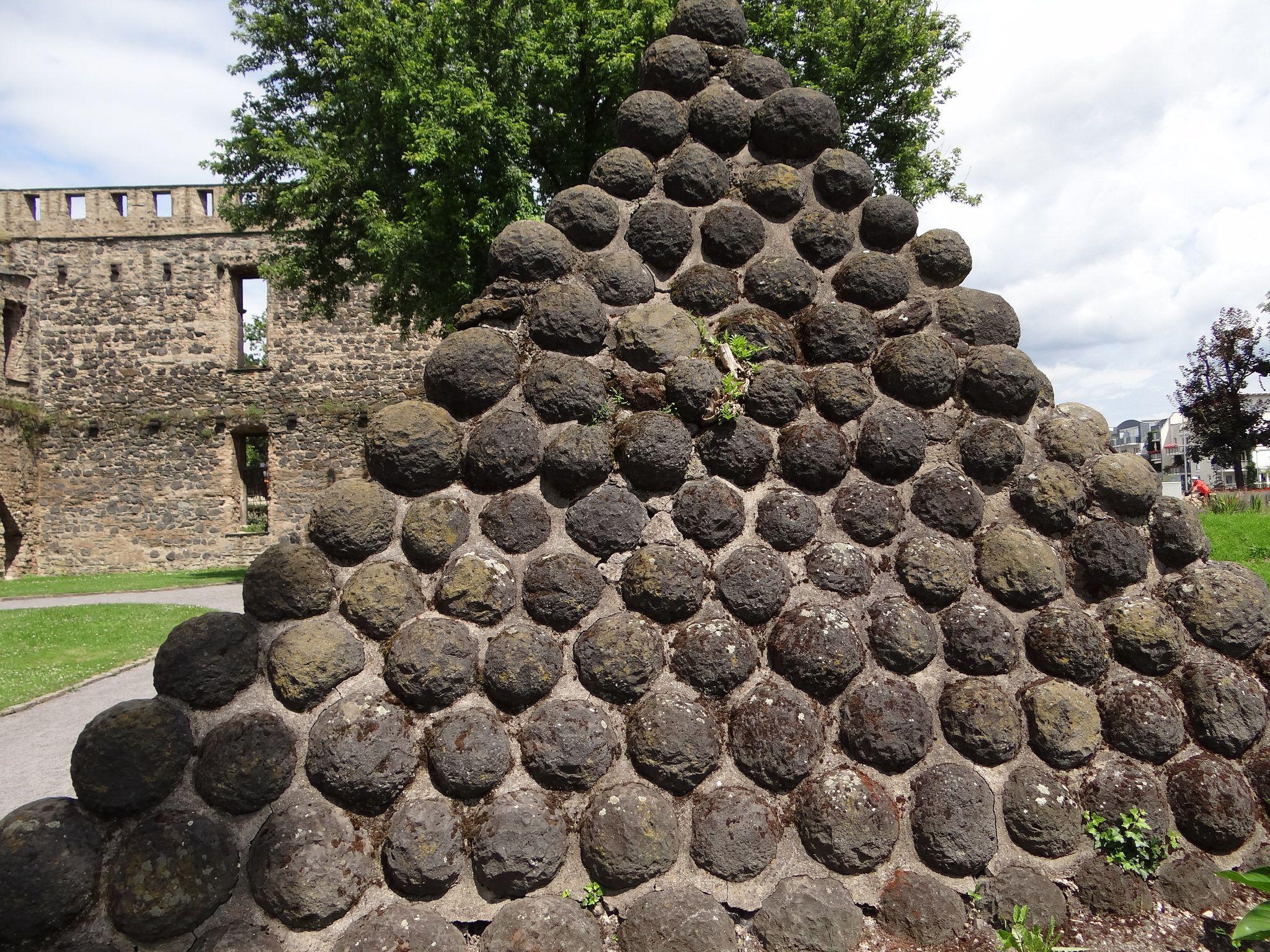Andernach Stadtmauer Black Peppercorn Plants