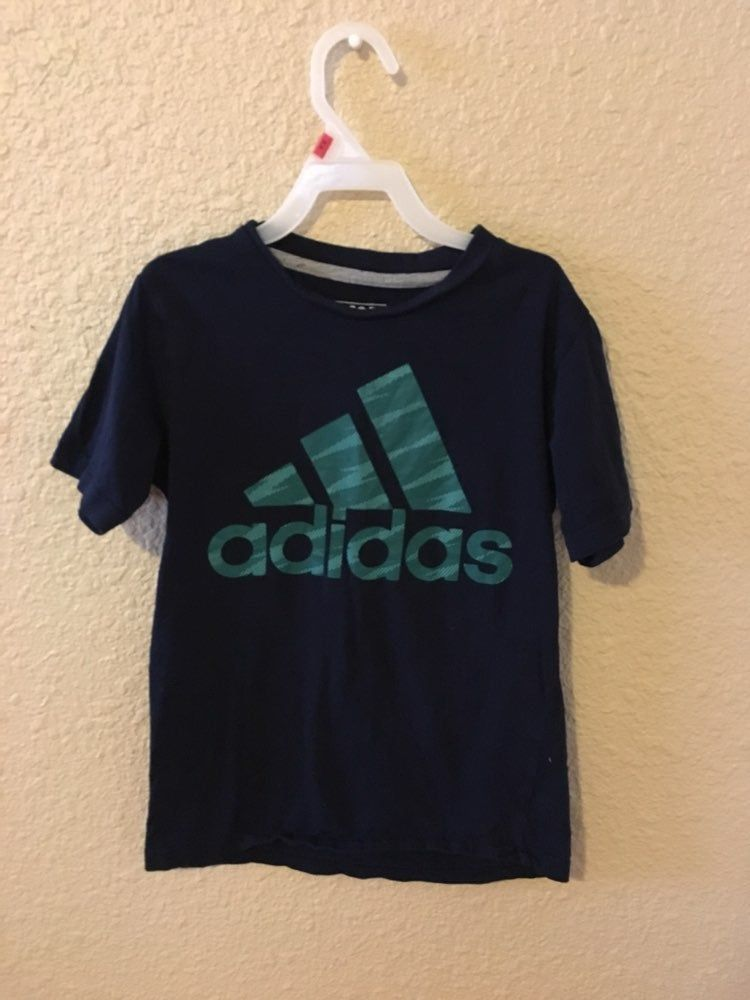 Size 8 for boys Adidas, Justice league