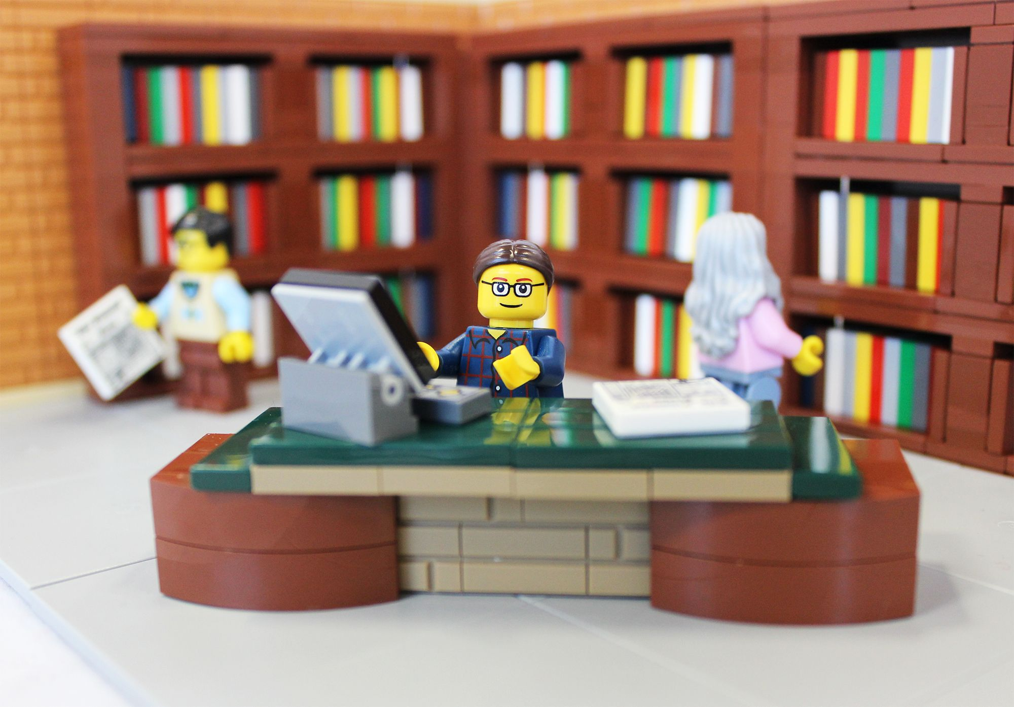 Librarian Day - National Library Week - Library Workers Day | LEGO