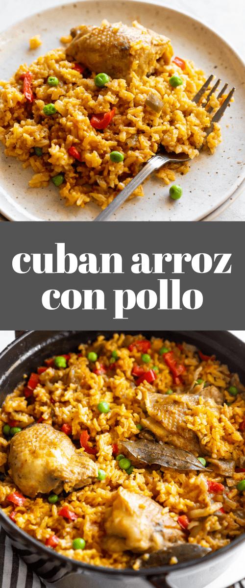 Classic Cuban-Style Arroz Con Pollo