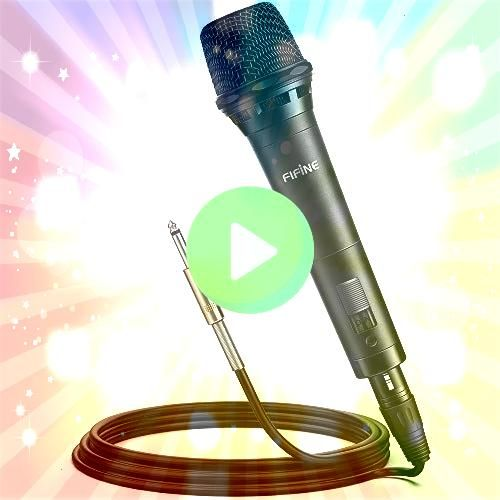 Dynamic Vocal Microphone Cardioid Handheld Microphone with On and Off Switch for Ka Amazon Aluminium Cake Stand 12 Revolving Cake Decorating Turntable for 1449 Reg2899 Wi...