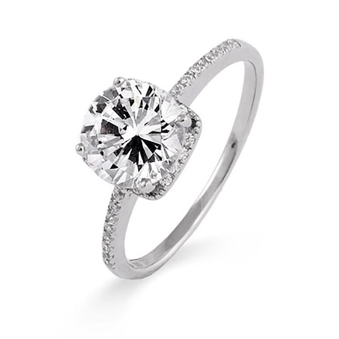 31 Beautiful Fake Diamond Wedding Rings That Look Real