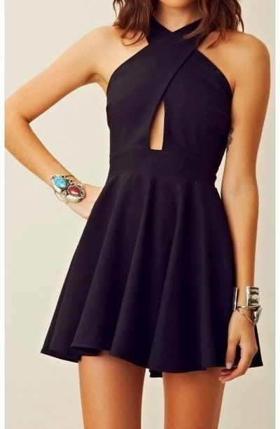 762367d7aa0 2016 custom black homecoming dress