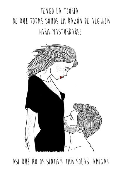 Chicas Muy Guapas Y Una Frase Verdades Pinterest Drawings Art