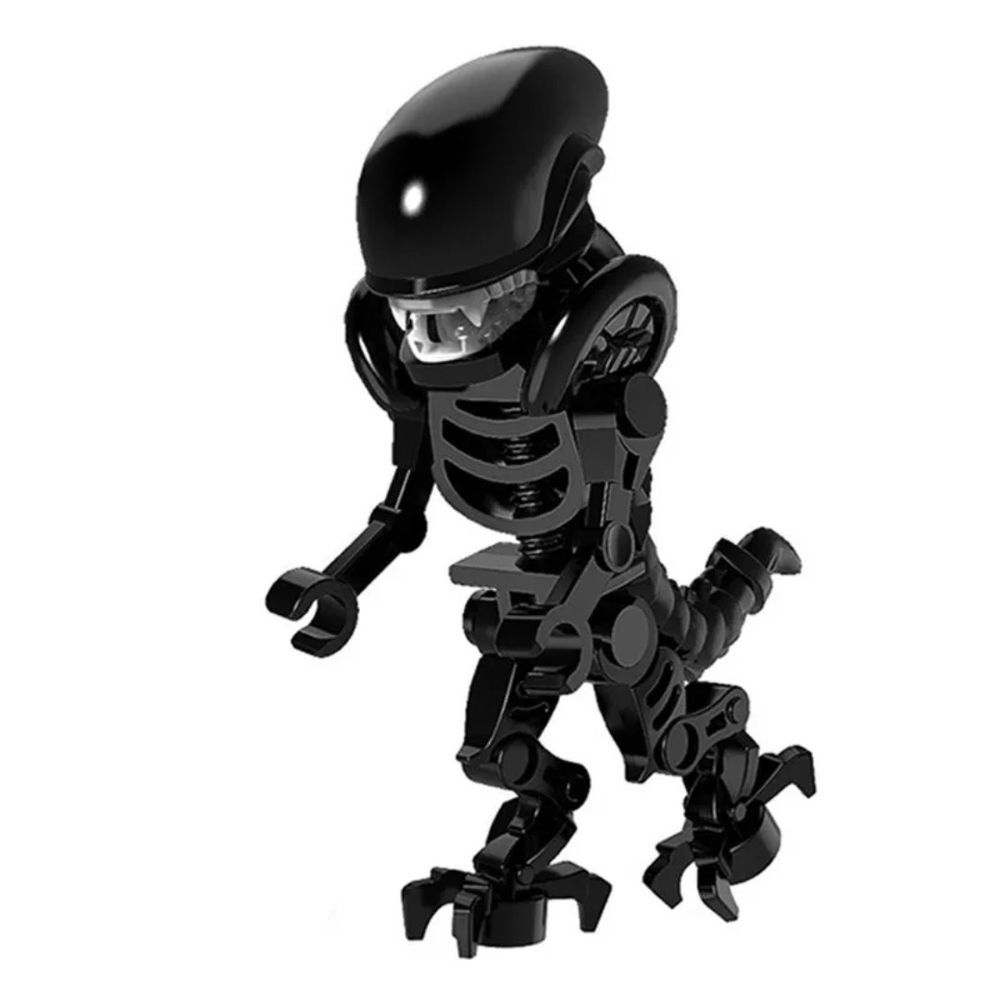 Alien Queen Xenomorph Alien Vs Predator Lego Custom ...
