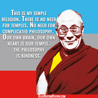 Compassion and kindness... THE gateway drug to peace.