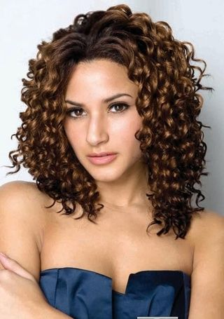 Deluxe Hairstyle Trending African American Curly Smooth Choppy Front Lace Wig about 16 Inches
