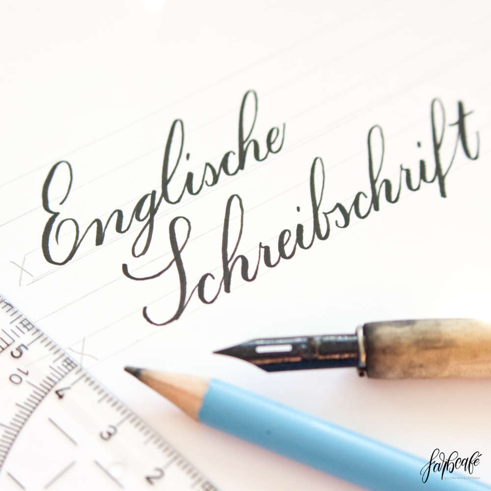 English script • Your introduction with exercises