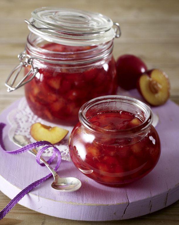 Unser beliebtes Rezept für Susinen-Konfitüre (Sommerpflaumen-Konfitüre) und mehr…
