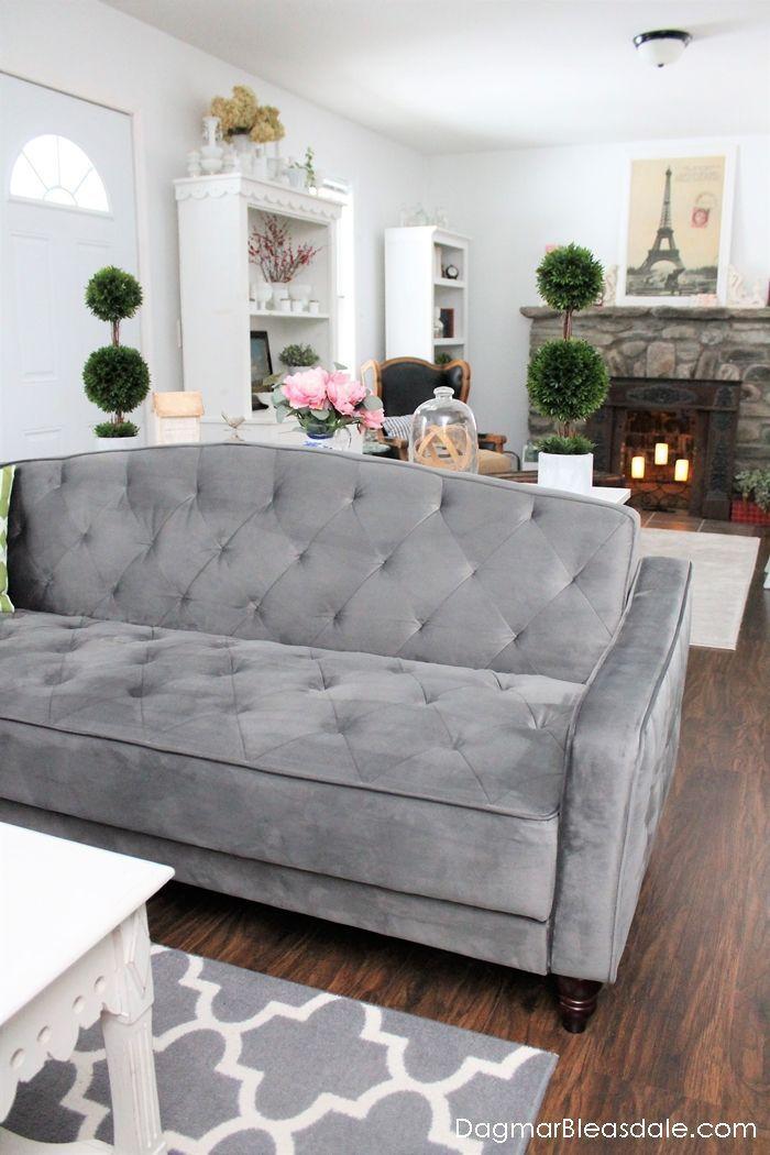 Novogratz Vintage Tufted Sofa Bed For Under 500 Home