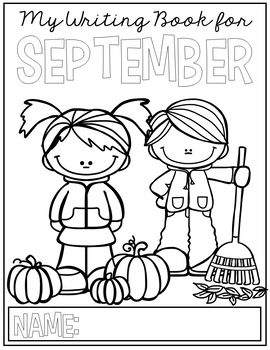 FREE September Writing Prompts for Kindergarten to Second