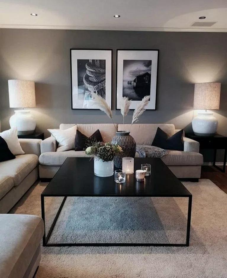 31 Cozy Modern Minimalist Living Room Designs Modernlivingroom Livingroomdecor Livingroomideas Gorgeous House Home Living Room Living Room Designs Room Decor