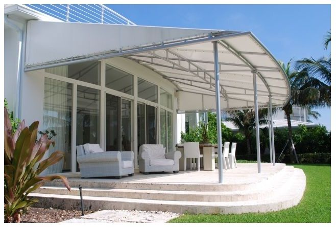 Patio Canopy With An Elegant Design