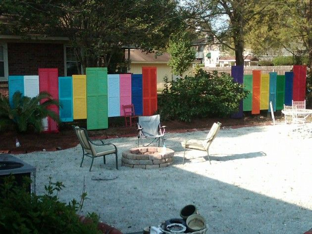 ein origineller zaun garden ideas pinterest z une. Black Bedroom Furniture Sets. Home Design Ideas