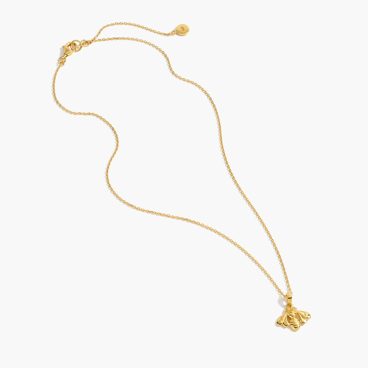 Demifine k goldplated bee necklace bee necklace bees and gold