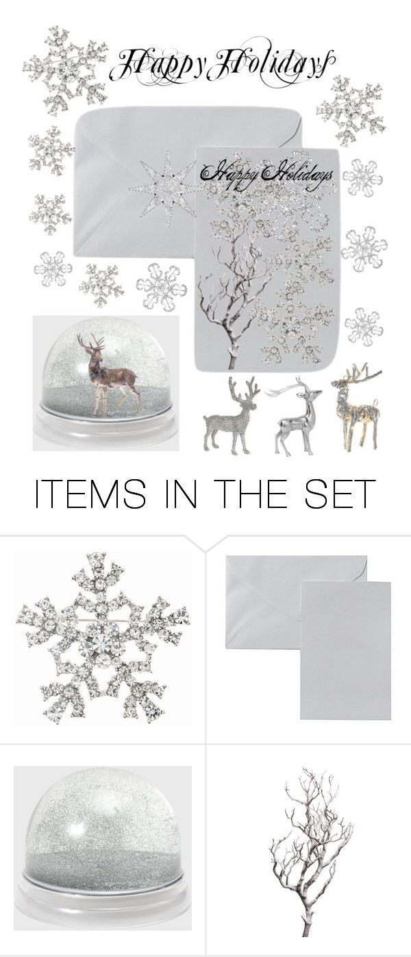 """""""Holiday Cards"""" by kotnourka ❤ liked on Polyvore featuring art, holidaygreetingcard and PVStyleInsiders"""