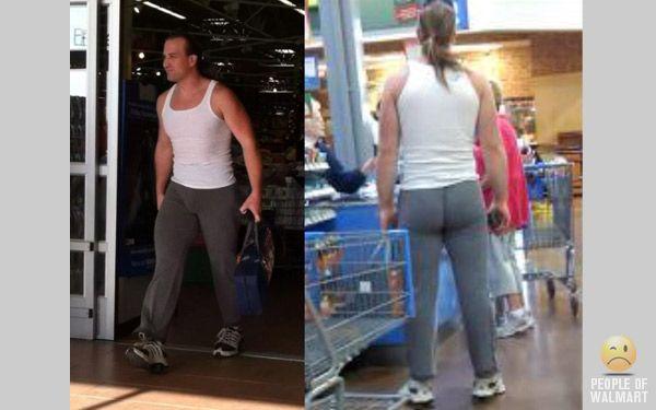 Guys In Yoga Pants - People Of Walmart   People of wal ...