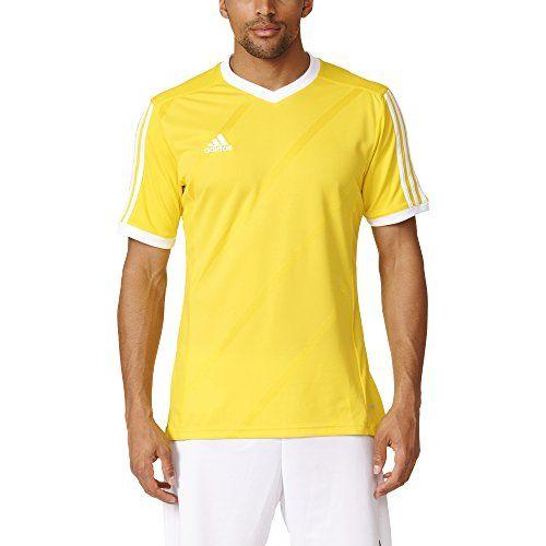Adidas Tabela 14 Replica Futbol Jersey Amarillo Blanco M Jersey Amarillo Ropa Jersey