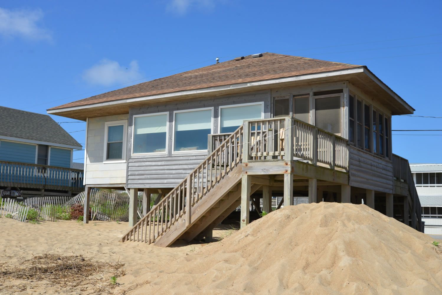 A Perfect Outer Banks Nc House Al In Kitty Hawk Located Oceanfront