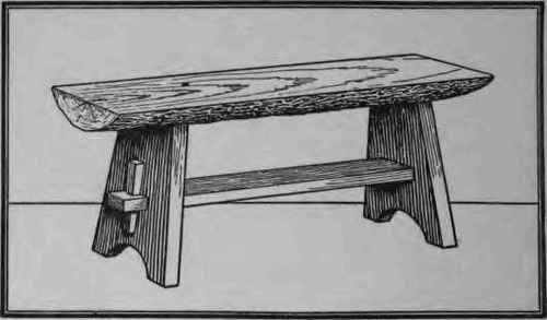 How To Make A Rustic Bench 196