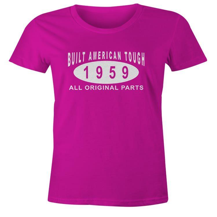 Womens 57th Birthday T-Shirt