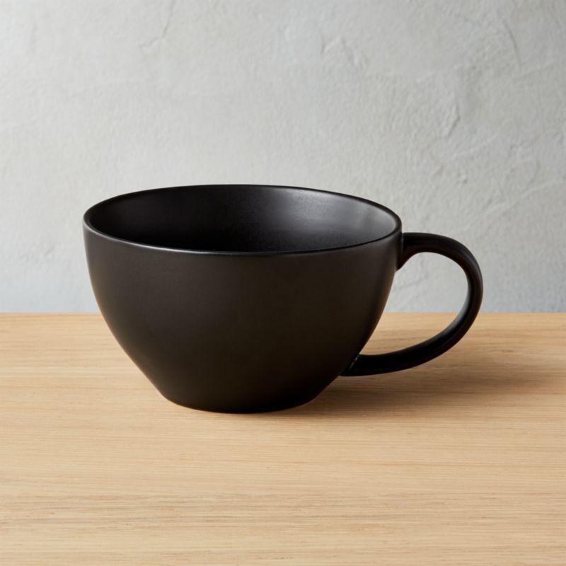 Crisp Matte Black Mug Reviews Mugs Unique Coffee Mugs
