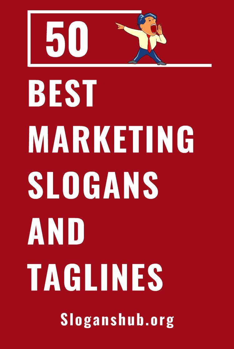 50 Best Marketing Slogans and Taglines Ever