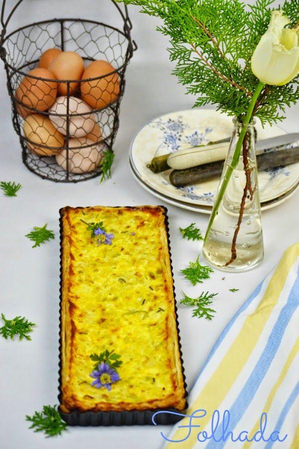 A Nel na cozinha das maravilhas...: Quiche de bacalhau
