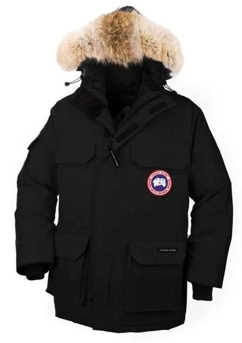 <strong>Warm+winter+essential+Canada+Goose+Black+Mens