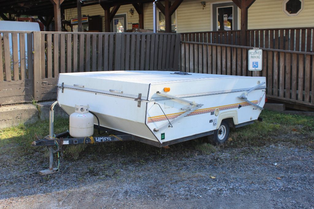 Used 1987 Palomino POPUP Folding PopUp Camper at Vermont
