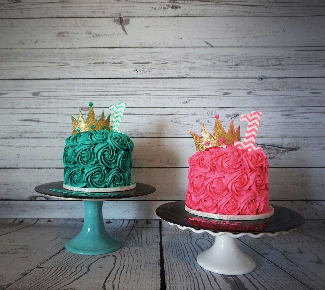 Smash Cakes For A Little Prince Princess Princess Birthday