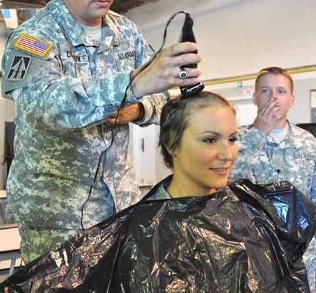 Should Women Entering The Military Get The Same Haircuts As Men