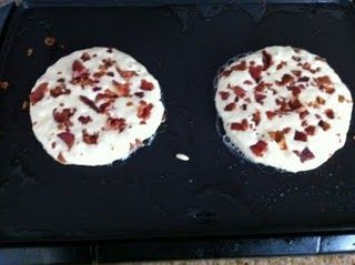 Bacon Pancakes Who'd 'ave thunk!
