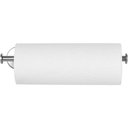 Mainstays Wall Mount Paper Towel Holder Brushed Nickel Image 2 Of 3