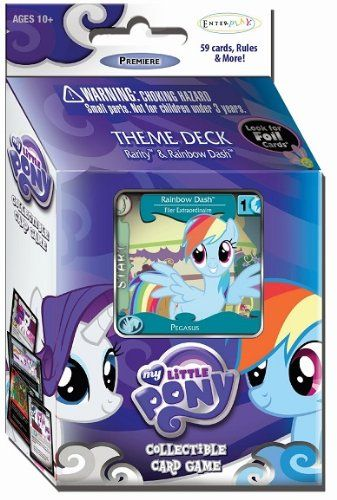 My Little Pony CCG Premiere Edition Theme Deck - Rainbow Dash & Rarity
