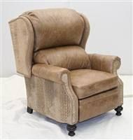 high end leather recliners & Gator Leather Recliner unique high style furniture | Luxury ... islam-shia.org