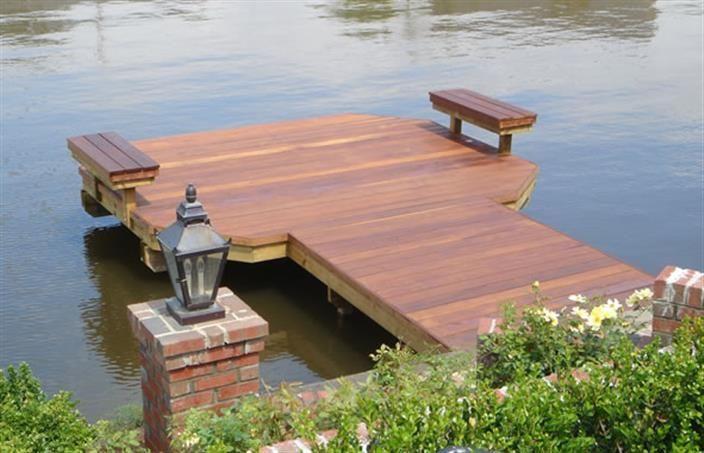 Bing  dock ideas Pond Design and Landscaping Pinterest Dock ideas